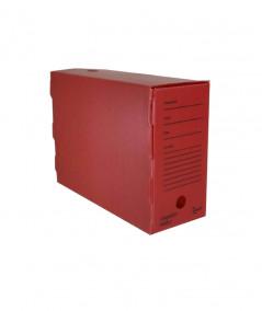 arquivo morto polionda alaplast na cor vermelho