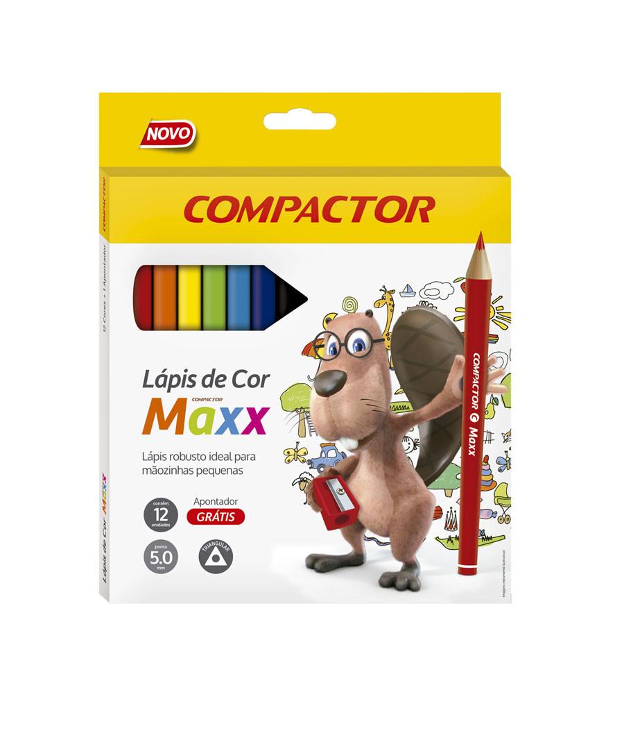 LAPIS DE COR COMPACTOR MAXX...