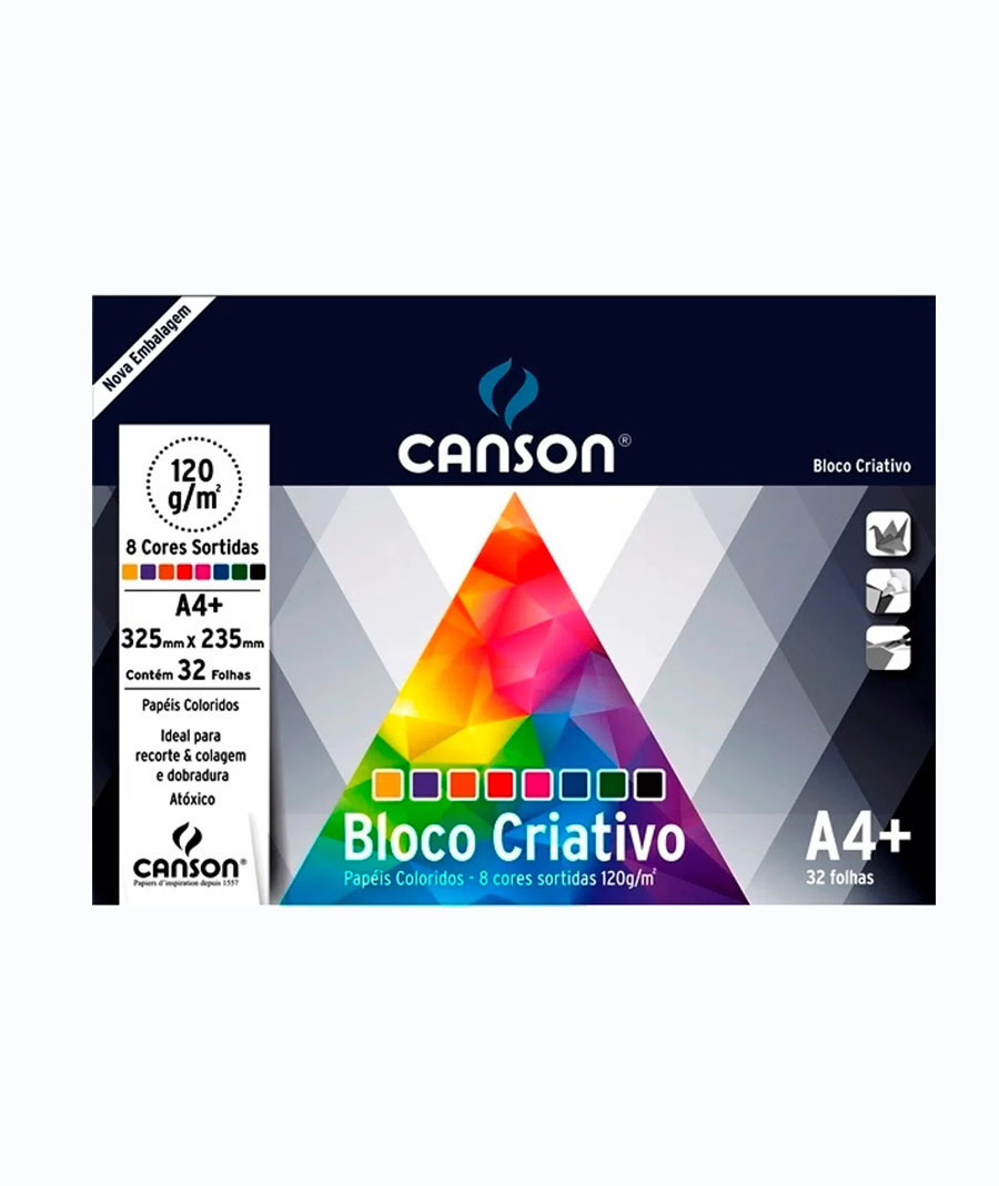 BLOCO CANSON CRIATIVO CARDS...