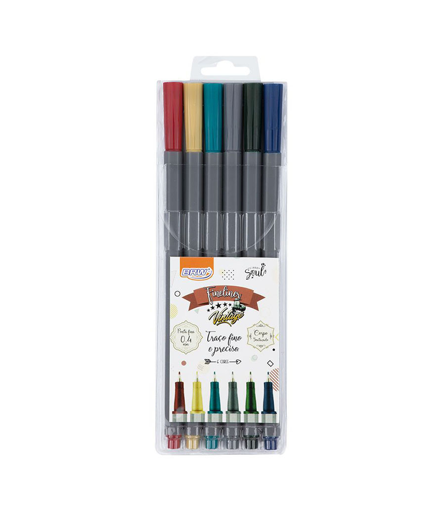 CANETA BRW FINELINER 0 4MM...