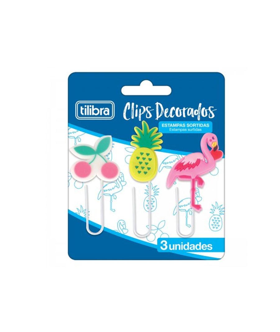 CLIPES TILIBRA DECORADO 03X1