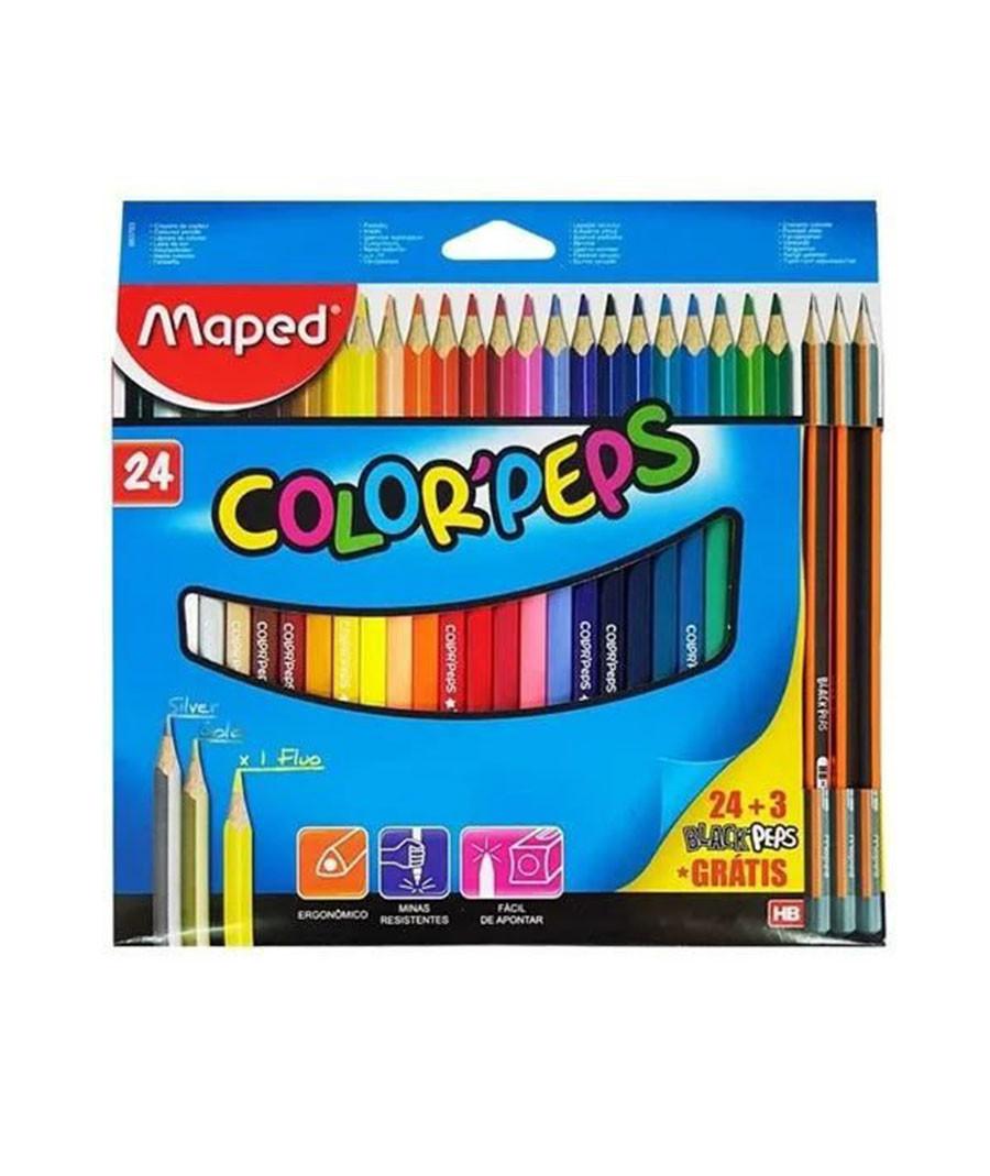 LAPIS DE COR MAPED PEPS...