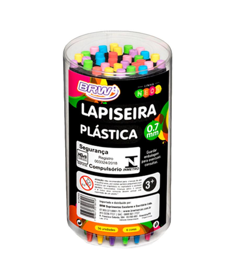 LAPISEIRA BRW PLASTICA NEON...