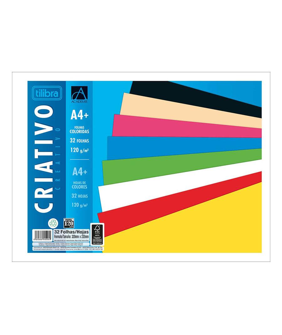 BLOCO CRIATIVO TILIBRA 32FL...