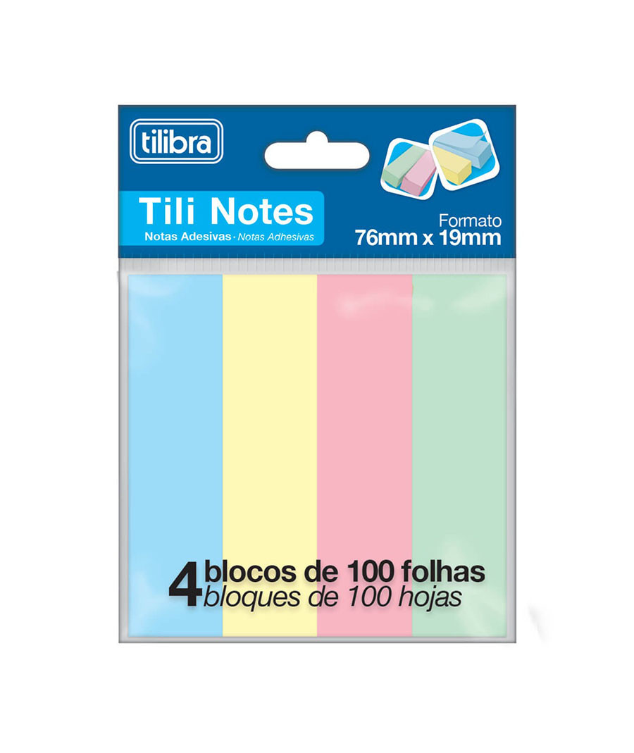 BLOCO DE RECADO TILINOTES...