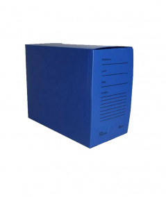 arquivo morto material polionda na cor azul